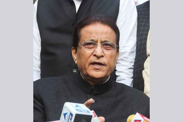 Is Azam Khan SP leader or Salahuddin's representative?