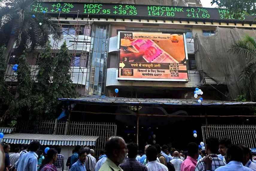 Sensex Spikes 235 Pts As Geo-Political Heat Eases