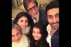 Amitabh Bachchan Rings in 72nd Birthday With Family