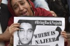 Missing JNU Student Najeeb Ahmad's Mother Stages Protest In Lucknow
