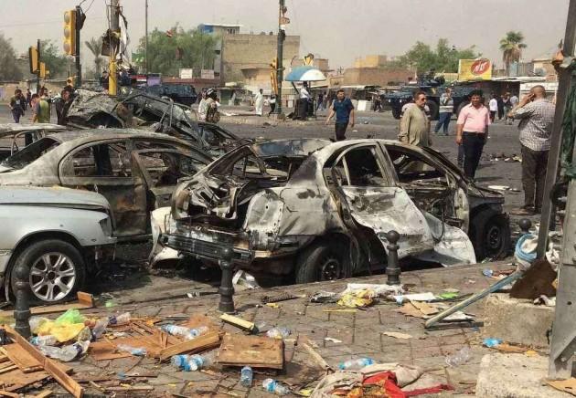 Car Bomb Blasts Kill 17 in Baghdad