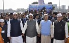 Massive Human Chain Formed In Bihar To Support Liquor Ban