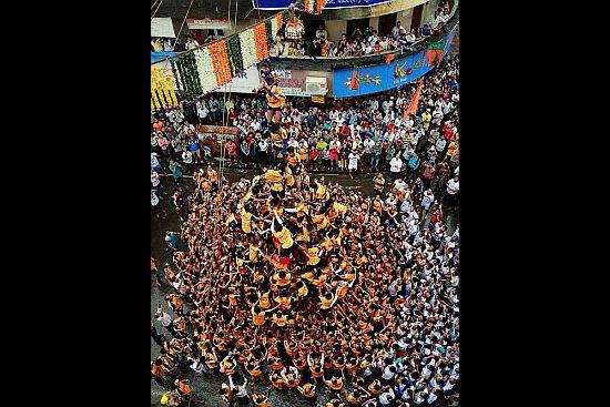 17 Injured During Dahi Handi Celebrations in Mumbai