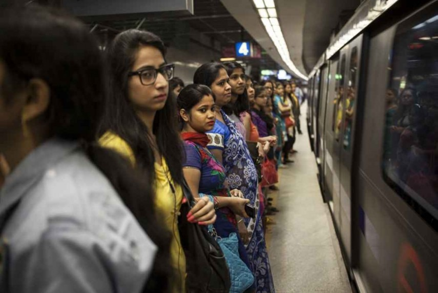 Spark in Delhi Metro coach creates panic, passengers deboarded