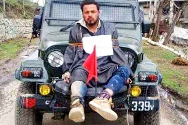 'Human shield' Farooq Ahmad Dar to be compensated Rs 10 lakh
