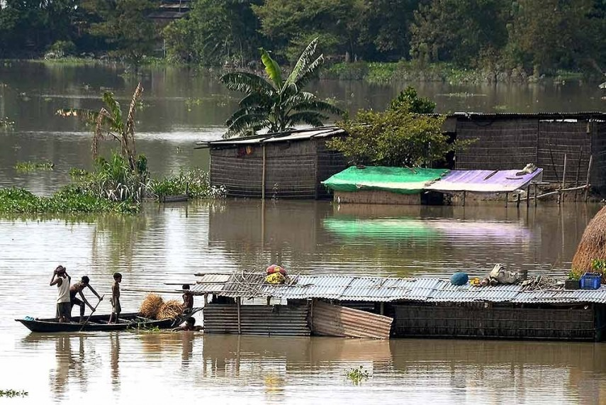 Assam Floods: 13 People Dead, 393 Villages Badly Affected in Morigaon District