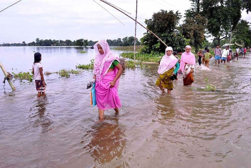 Assam Flood Situation Deteriorates, 5 More Die, Toll Mounts To 89