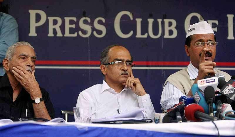Revolt in AAP: Shanti Bhushan Hits Out at Kejriwal