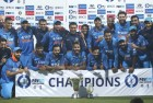 India Gain Points to Move Up to 3rd Place in ICC Rankings