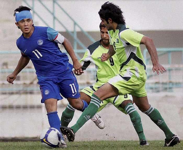 India, Pakistan Resume Rivalry on Football Pitch