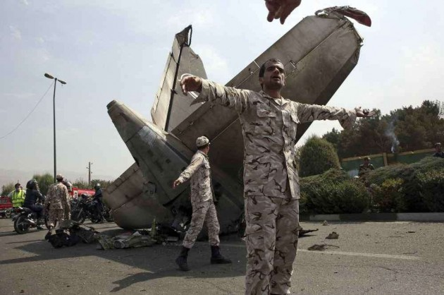 Iran Airliner Crashes, 39 Dead: Official