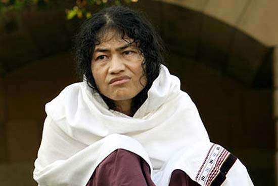 Irom Sharmila Re-arrested Over 'Attempt to Commit Suicide'
