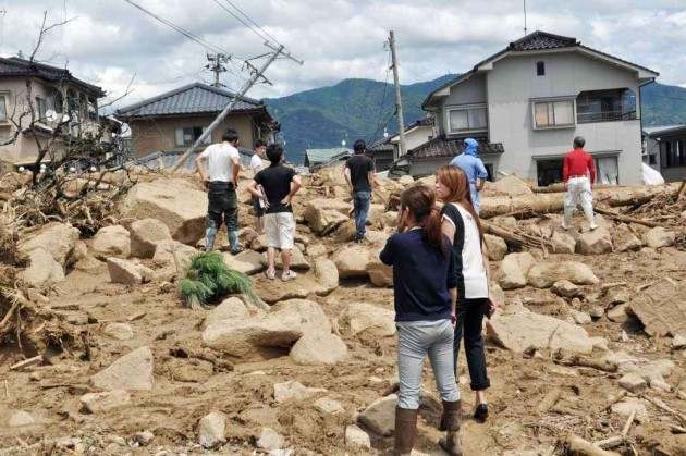 Death Toll in Hiroshima Landslides Rises to 50, 38 Missing: police