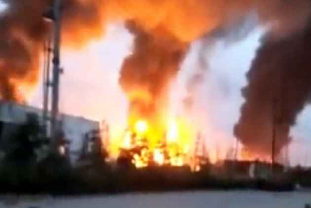 8 killed in east China chemical plant explosion, fire