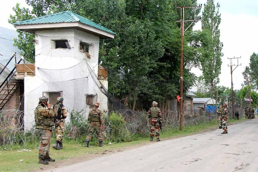 JK: Four terrorists neutralised in Machhil sector, ammunition recovered