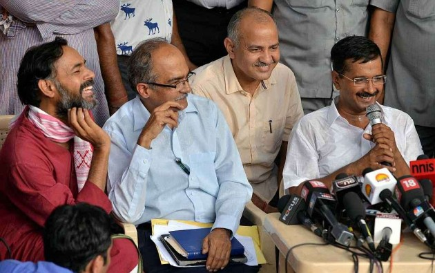 AAP Will Restructure Itself: Arvind Kejriwal