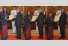 Sindhu, Sakshi, Dipa Conferred Khel Ratna Along With Jitu Rai