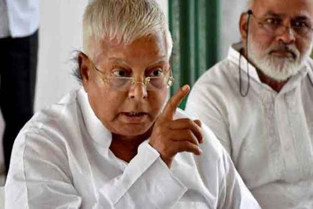 Lalu denies 'benami' land deals, vows to 'uproot' Modi government