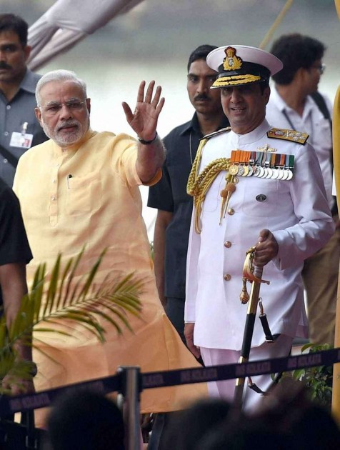 INS Kolkata Inducted, PM Says No One Will Dare to Challenge India