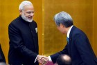 Modi Holds Wide-Ranging Talks With Abe
