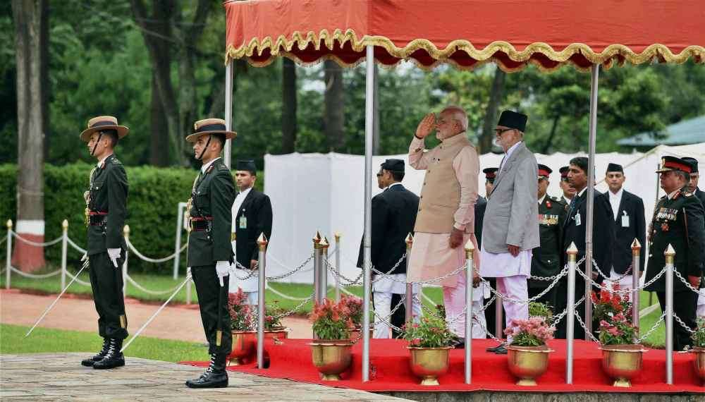 PM Arrives in Nepal, Hopes to Start New Chapter in Bilateral Ties