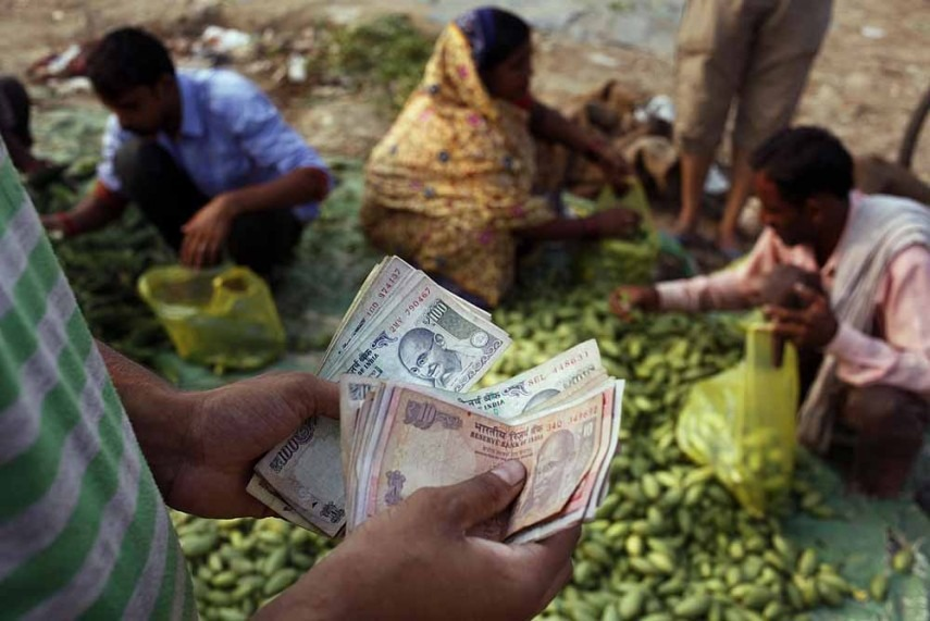 Rupee Plunges by 66 Paise Against Dollar, Ends at 64.84