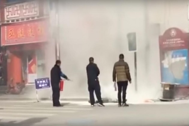 Tibetan Monk Attempts Self-Immolation In Western China