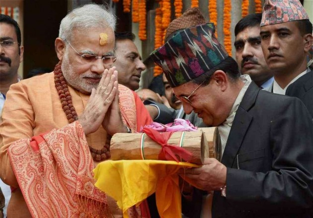 PM Offers Special Prayers at Pashupatinath Temple in Nepal