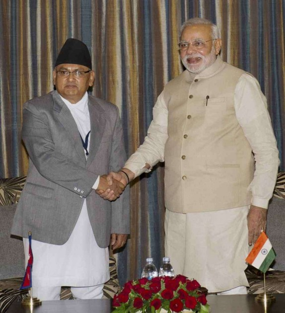 Nepalese Foreign Minister Calls on Modi