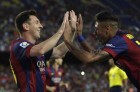 Lionel Messi Breaks Liga Goals Record With Hat-Trick