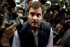 Rahul Leads Congress Protest Outside Parliament Over V.K. Singh's 'Dog' Remarks