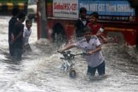 Heavy Rains Lash Mumbai, Rail, Road Traffic Disrupted