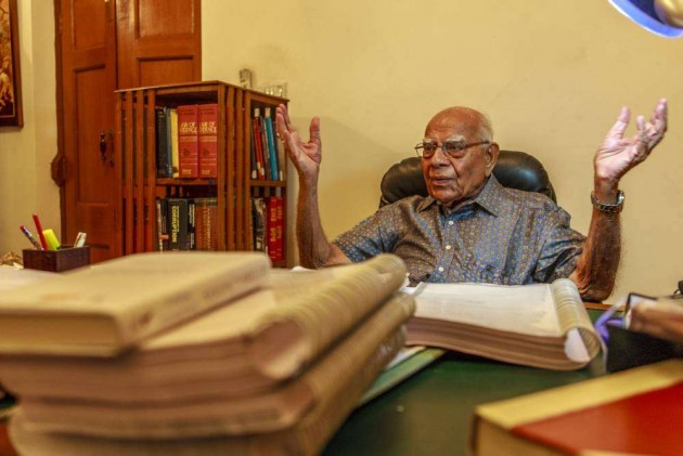 BJP Is Quiet Since I Explained the Imprortance of Art 370 to Modi: Jethmalani