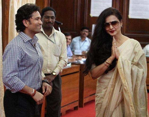 RS Questions Tendulkar & Rekha's Absence