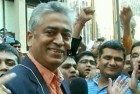 TV Anchor Rajdeep Sardesai Roughed Up Outside MSG