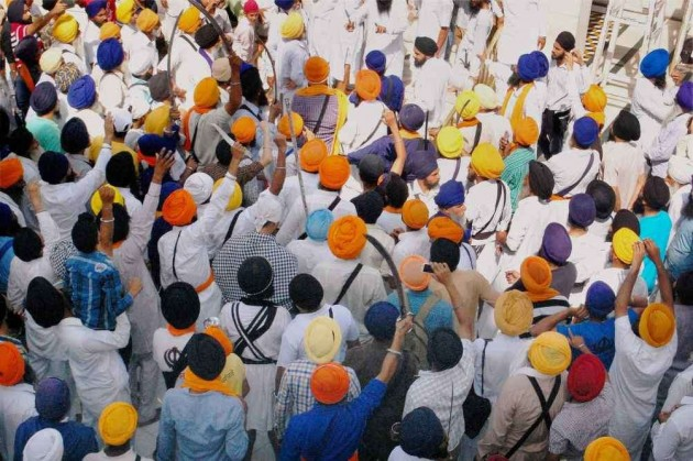 Clashes Inside Golden Temple on Bluestar Anniversary