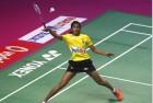 Sindhu Loses to Marin, Praneeth Enters Singapore Semis