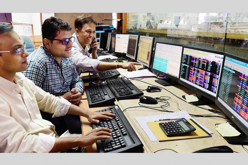 Sensex, Nifty end flat; Power Grid Corp down, Tata Motors up