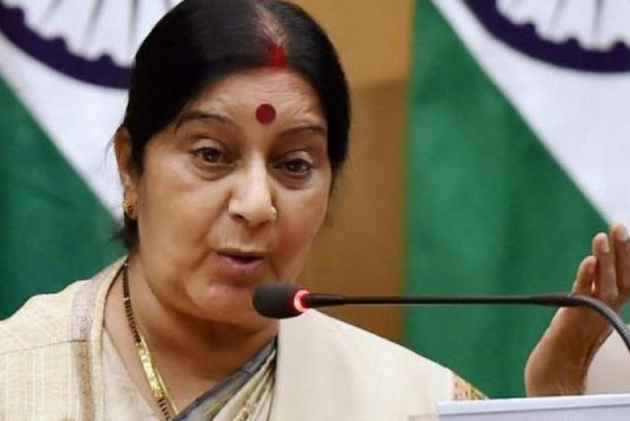 Not denying medical visas to Pakistanis: Sushma