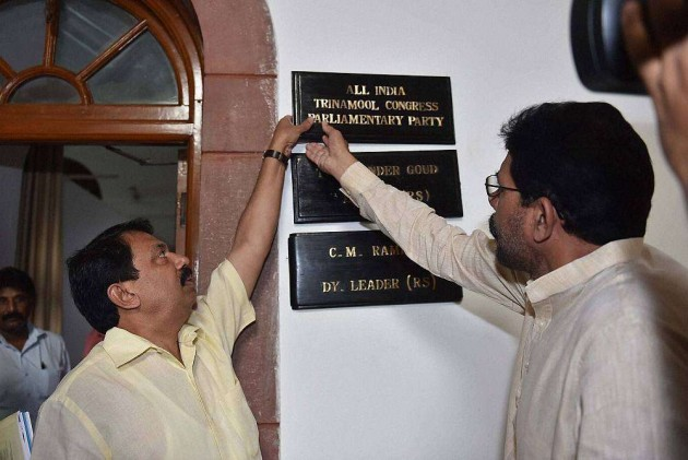 TDP, TMC MPs in Tug of War Over Room at Parliament House