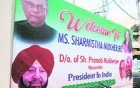 Rashtrapati Bhavan Unhappy Over President's Photographs In Congress Hoardings