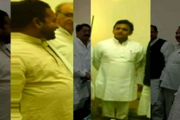 Photo of UP CM With a Saharanpur Accused Stirs Trouble