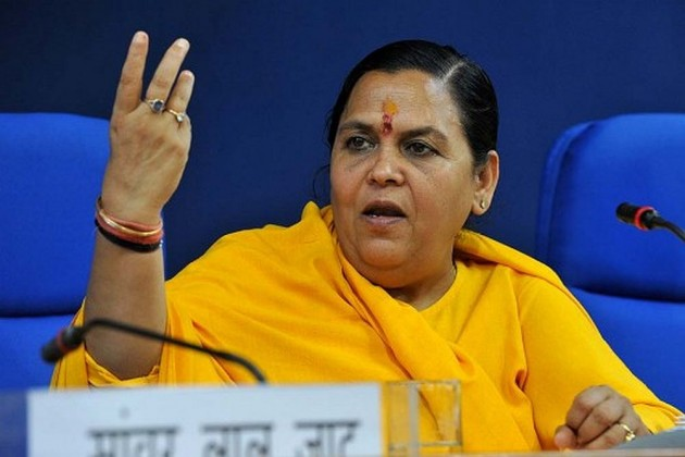 'BJP Will Rout The SP-Congress Alliance For UP Polls,' Says Union Minister Uma Bharti