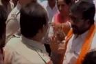 Sena MP Gaikwad Engages in 'Verbal Spat' With Cops