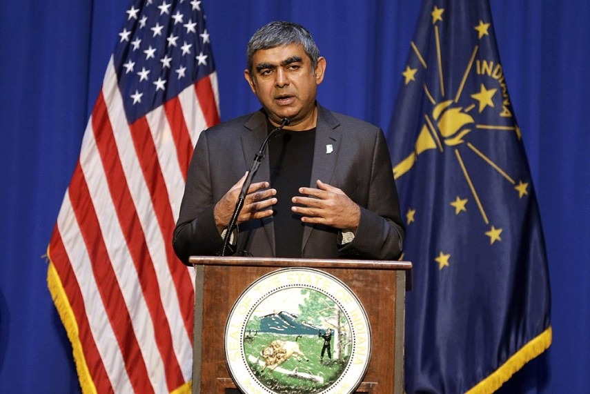 Indian IT Industry Not H-1B Dependent, Says Infosys CEO Vishal Sikka