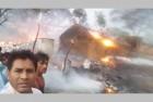 BJP MLA From Rajasthan Takes Selfie In-Front Of Burning Houses, Gets Slammed