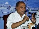 WikiLeaks: Antony Refused to Support Sanjay Gandhi