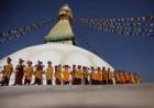 Nepal's Quake-Damaged Boudhanath Stupa Reopens