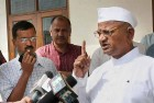 Walk the Talk on Party Funding, Hazare Tells Kejriwal