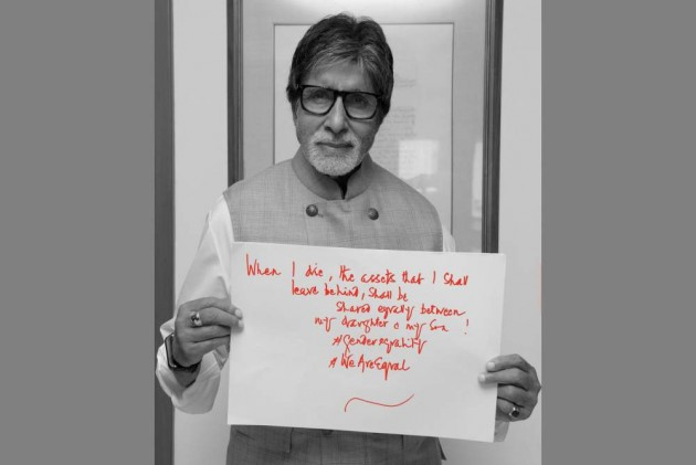 'My Property Would Be Equally Divided Between Son And Daughter', Says Amitabh Bachchan